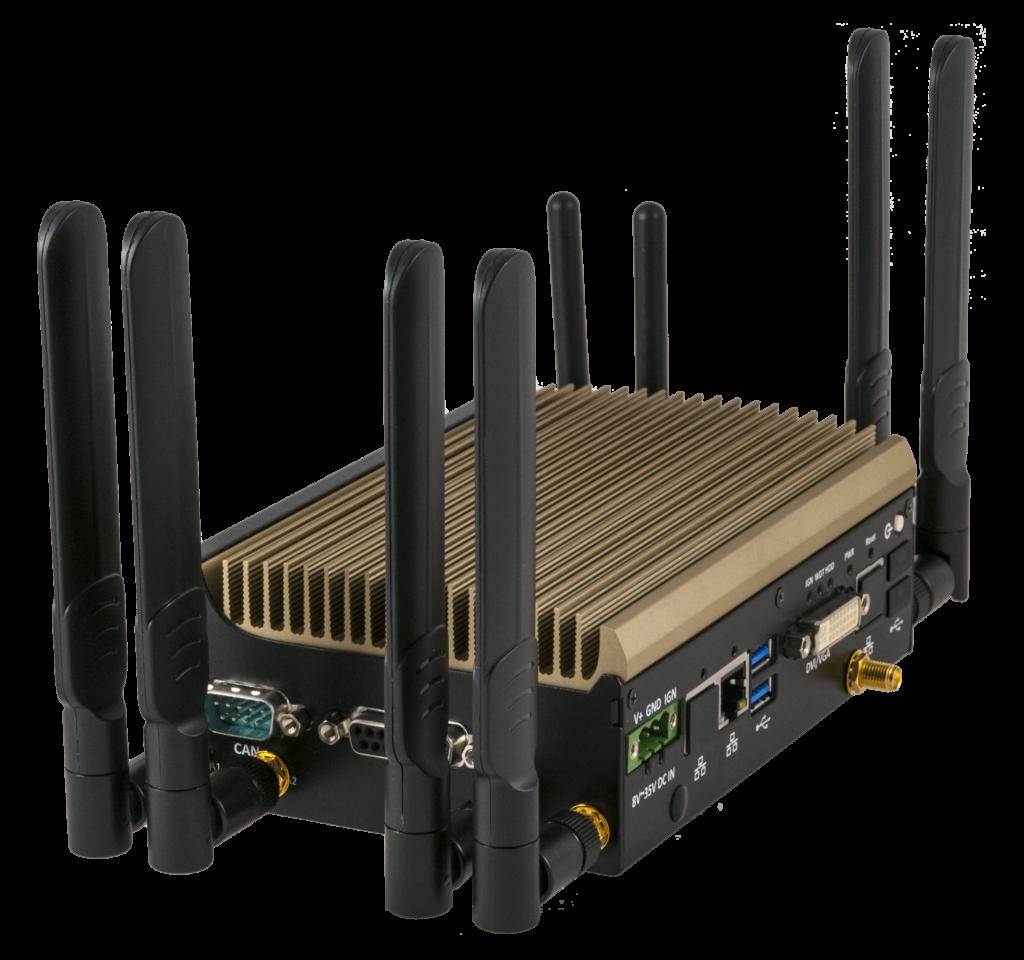 NetAmp multi-WAN bonding device with antennae